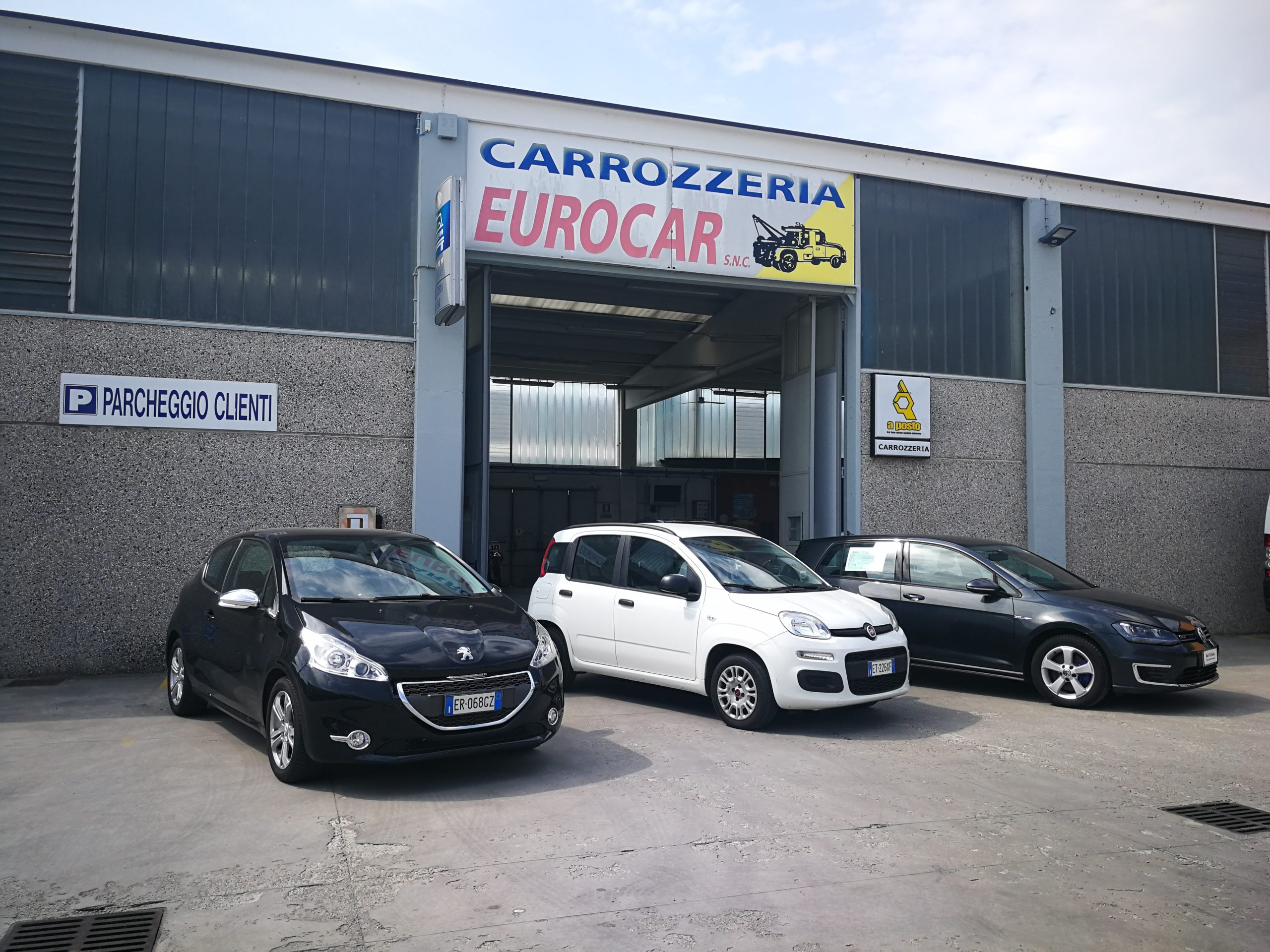 Auto sostitutive Carrozzeria Eurocar Spino d'Adda